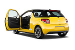 Rear three quarter door view of a 2013 Citroen DS3 Sport Chic 3 Door Hatchback 2WD