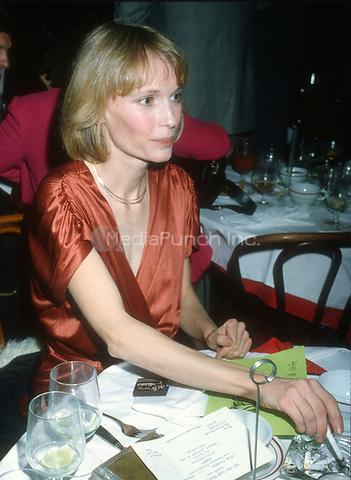 Mia Farrow 1979<br /> Photo By John Barrett/PHOTOlink/MediaPunch
