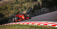 55 SAINZ Carlos (spa), Scuderia Ferrari SF21, action during the Formula 1 Rolex Turkish Grand Prix 2021, 16th round of the 2021 FIA Formula One World Championship from October 8 to 10, 2021 on the Istanbul Park, in Tuzla, Turkey -<br /> Formula 1 Turkish GP 08/10/2021<br /> Photo DPPI/Panoramic/Insidefoto <br /> ITALY ONLY