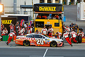 Monster Energy NASCAR Cup Series<br /> Quaker State 400<br /> Kentucky Speedway, Sparta, KY USA<br /> Saturday 8 July 2017<br /> Matt Kenseth, Joe Gibbs Racing, Circle K Toyota Camry pit stop<br /> World Copyright: Barry Cantrell<br /> LAT Images