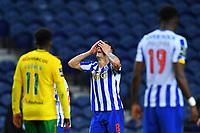 14th March 2021; Dragao Stadium, Porto, Portugal; Portuguese Championship 2020/2021, FC Porto versus Pacos de Ferreira; Mateus Uribe of FC Porto with a close miss on goal