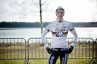 U23 World Champion Michael Vanthourenhout (BEL/Sunweb-Napoleon Games) in his first race in the rainbow jersey<br /> <br /> Krawatencross <br /> bpost bank trofee 2015