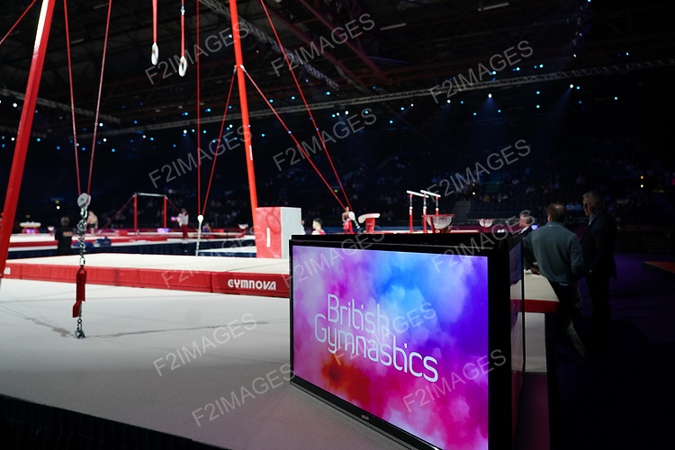 Gymnastics World Cup  23.3.19. World Resorts Arena. Birmingham UK.<br />  n action