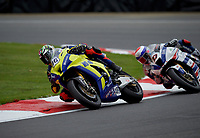 Tommy Bridewell (46) of Team WD40 during practice in the MCE BRITISH SUPERBIKE Championships 2017 at Brands Hatch, Longfield, England on 13 October 2017. Photo by Alan  Stanford / PRiME Media Images.