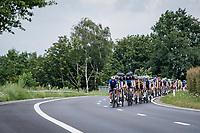 Iljo Keisse (BEL/Deceuninck - Quick Step) leading the bunch, per usual<br /> <br /> Heylen Vastgoed Heistse Pijl 2021 (BEL)<br /> One day race from Vosselaar to Heist-op-den-Berg (BEL/193km)<br /> <br /> ©kramon