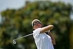 SINGAPORE - MARCH 06:  Sophie Gustafson of Sweden wathes her shot during the second round of HSBC Women's Champions at the Tanah Merah Country Club on March 6, 2009 in Singapore. Photo by Victor Fraile / The Power of Sport Images