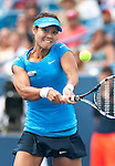Li Na of China wins the Western & Southern Open in Mason, OH on August 19, 2012.