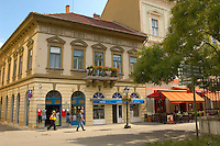 Baroque shopping street - Eger Hungary