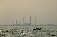 - Venice lagoon and industrial area of Porto Marghera ....- laguna di Venezia e zona industriale di porto Marghera