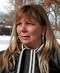 WATERBURY, CT04 January 2006-010406TK01  Nancy Santoro of Waterbury will choose not file her tax returns electronically.  Tom Kabelka / Republican-American (Nancy Santoro)CQ