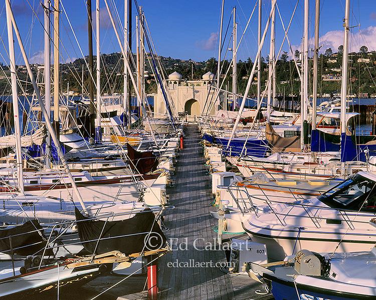 Taj Mahal Houseboat, Sausalito Harbor, Marin County, California