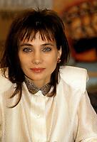 FILE PHOTO -  Chloee Sainte-Marie<br /> <br /> <br /> Festival des films du Monde de 1987<br /> <br /> <br /> Photo  :  Denis Alix - Agence Quebec Presse