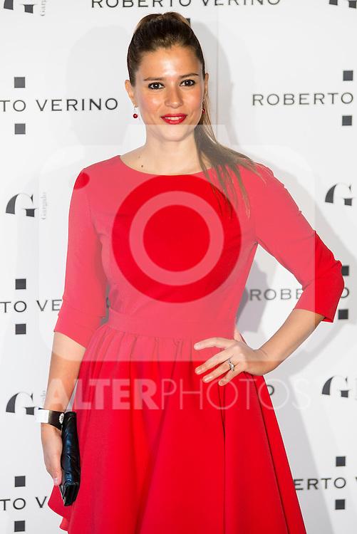 "Ruth Armas during the presentation of the new Spring-Summer collection ""Un Balcon al Mar"" of Roberto Verino at Platea in Madrid. March 16, 2016. (ALTERPHOTOS/Borja B.Hojas)"