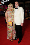 """Stephanie von Stein and Ralph Burch at the 2016 Houston Symphony Gala """"Carnaval"""" at Jones Hall Saturday May 14,2016(Dave Rossman Photo)"""