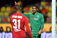 Alban-Marc Lafont of Fiorentina gestures during the Serie A 2018/2019 football match between Frosinone and ACF Fiorentina at stadio Benito Stirpe, Frosinone, November 09, 2018 <br />  Foto Andrea Staccioli / Insidefoto