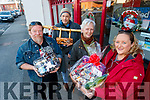 Pictured at the launch of the Arty bits Craft fair which takes place at the Tralee KDYS on the 7th and 8th of December, from left: Graham Gardner, Dudes Foods, Denis Butler, Aa Batacam, Magerie Cunningham, potter and Georgina Maher, Organiser.