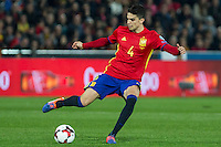 Spain's Marc Bartra during the match of European qualifying round between Spain and Macedonia at Nuevo Los Carmenes Stadium in Granada, Spain. November 12, 2016. (ALTERPHOTOS/Rodrigo Jimenez)
