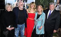 BEVERLY HILLS, CA, USA - NOVEMBER 19: Andrea Beckett, Bruce Dern, Laura Dern, Diane Ladd, Robert Charles Hunter arrive at the Los Angeles Premiere Of Fox Searchlight Pictures' 'Wild' held at the AMPAS Samuel Goldwyn Theater on November 19, 2014 in Beverly Hills, California, United States. (Photo by Xavier Collin/Celebrity Monitor)