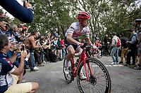 up the infamous Muro di Sormano (avg 17%/max 25%)<br /> <br /> 113th Il Lombardia 2019 (1.UWT)<br /> 1 day race from Bergamo to Como (ITA/243km)<br /> <br /> ©kramon