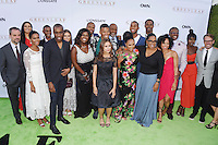 """WEST HOLLYWOOD, CA - JUNE 15: """"Greenleaf"""" cast members arrive at the premiere of OWN's 'Greenleaf' at The Lot on June 15, 2016 in West Hollywood, California."""
