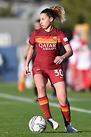Emma Severini of AS Roma in action during the Women Italy cup round of 8 second leg match between AS Roma and Florentia S.G. at stadio delle tre fontane, Roma, February 14, 2021. Photo Andrea Staccioli / Insidefoto