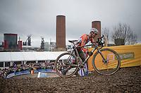 Mathieu Van der Poel (NED/Beobank-Corendon)<br /> <br /> Elite Men's Race<br /> UCI 2017 Cyclocross World Championships<br /> <br /> january 2017, Bieles/Luxemburg
