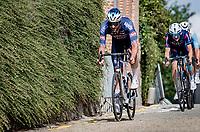 Guillaume Van Keirsbulck (BEL/Alpecin-Fenix) rolling through Heist-op-den-Berg<br /> <br /> Heylen Vastgoed Heistse Pijl 2021 (BEL)<br /> One day race from Vosselaar to Heist-op-den-Berg (BEL/193km)<br /> <br /> ©kramon