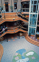 Glasgow: Prince's Square 1842; 1986-87. Photo '90.