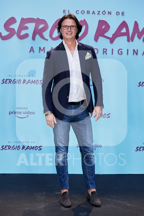 "Javier Castillo attends to ""El Corazon De Sergio Ramos"" premiere at Reina Sofia Museum in Madrid, Spain. September 10, 2019. (ALTERPHOTOS/A. Perez Meca)"