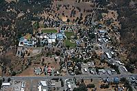 aerial photograph of Lower Lake,  Lake County, California
