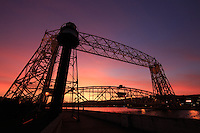 """Canal at Sunset""<br />