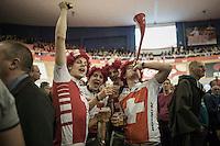 Suisse fans in da house!<br /> <br /> 2016 Gent 6<br /> day 4