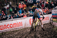 Tom Pidcock (GBR/U23/Telenet Fidea Lions)<br /> <br /> U23 Men's Race<br /> UCI CX Worlds 2018<br /> Valkenburg - The Netherlands