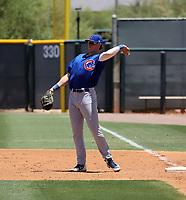 Matt Warkentin - Chicago Cubs 2021 spring training (Bill Mitchell)