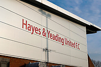 8th November 2020; SkyEx Community Stadium, London, England; Football Association Cup, Hayes and Yeading United versus Carlisle United; General view of SkyEX Community Stadium