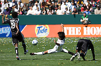 LA Galaxy midfielder Josh Tudela. The LA Galaxy and DC United play to 2-2 draw at Home Depot Center stadium in Carson, California on Sunday March 22, 2009.