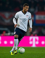 VIENNA, Austria - November 19, 2013: Terrence Boyd during a 0-1 loss to host Austria during the international friendly match between Austria and the USA at Ernst-Happel-Stadium.