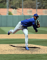Eury Ramos - Chicago Cubs 2021 spring training (Bill Mitchell)
