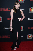 """HOLLYWOOD, LOS ANGELES, CA, USA - MARCH 20: Christa B. Allen at the Los Angeles Premiere Of Pantelion Films And Participant Media's """"Cesar Chavez"""" held at TCL Chinese Theatre on March 20, 2014 in Hollywood, Los Angeles, California, United States. (Photo by David Acosta/Celebrity Monitor)"""