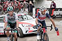 Vincenzo Nibali (ITA/Trek-Segafredo) dropping his bidon up the final part of the Monte Zoncolan <br /> <br /> 104th Giro d'Italia 2021 (2.UWT)<br /> Stage 14 from Cittadella›Monte Zoncolan (205km)<br /> <br /> ©kramon