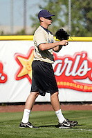 Eric Stavert of the Tri-City Dust Devils in the Northwest League championship game against the Salem-Keizer Volcanoes at Volcanoes Stadium - 9/10/2009..Photo by:  Bill Mitchell/Four Seam Images..