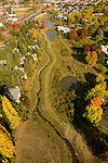 Aerial of the Ponds at Tanasbourne, Oregon