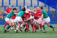 Carys Phillips of Walesin action during the Women's Six Nations match between Wales and Ireland at Cardiff Arms Park, Cardiff, Wales, UK. Sunday 17 March 2019