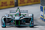 Nelson Piquet Jr of Brazil from Panasonic Jaguar Racing competes in the Formula E Qualifying Session 1 during the FIA Formula E Hong Kong E-Prix Round 1  at the Central Harbourfront Circuit on 02 December 2017 in Hong Kong, Hong Kong. Photo by Marcio Rodrigo Machado / Power Sport Images