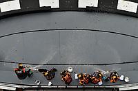 IMSA Continental Tire SportsCar Challenge<br /> BMW Endurance Challenge at Daytona<br /> Daytona Beach, Florida, USA<br /> Friday 26 January 2018<br /> #77 Compass Racing, Audi RS3 LMS TCR, TCR: Britt Casey Jr, Tom Long, #74 Compass Racing, Audi RS3 LMS TCR, TCR: Rodrigo Sales, Kuno Wittmer, #53 Murillo Racing, Audi RS3 LMS TCR, TCR: Matt Fassnacht, Justin Piscitell celebrate in victory lane. <br /> World Copyright: Scott R LePage<br /> LAT Images<br /> <br /> ref: Digital Image _SRL1336