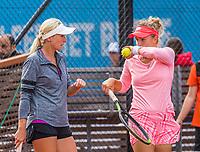 Amstelveen, Netherlands, 6 Juli, 2021, National Tennis Center, NTC, Amstelveen Womans Open, Doubles: Vismane/Marcinkevica (LAT)<br /> Photo: Henk Koster/tennisimages.com