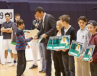 03-01-12, Tennis, Rotterdam, Topsportcentrum, Selection ballkids fot the upcomming ABMAMROWTT