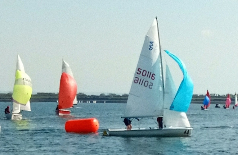 The increased pace in Galway Bay SC 420 racing is indicated by their growing dominance of the Mixed Class in Junior Training at the GBSC base at Renville near Oranmore