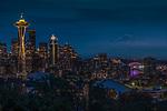 USA, Washington, Seattle skyline