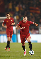 Football Soccer: UEFA Champions League AS Roma vs Qarabag FK Stadio Olimpico Rome, Italy, December 5, 2017. <br /> Roma's Aleksandar Kolarov in action during the Uefa Champions League football soccer match between AS Roma and Qarabag FK at at Rome's Olympic stadium, December 05, 2017.<br /> UPDATE IMAGES PRESS/Isabella Bonotto